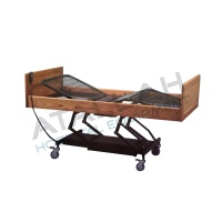 3-function Electric Bed - Wood
