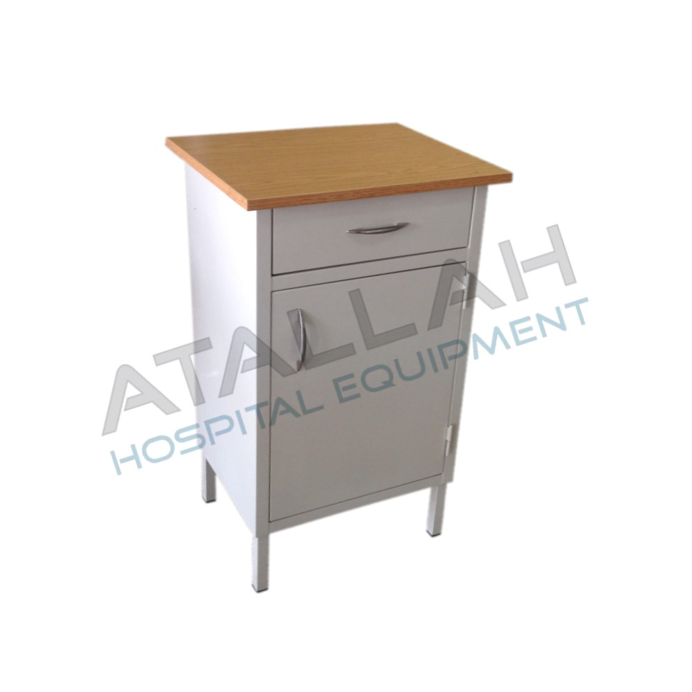 Cabinet Bedside Steel - Small