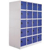Lockers - 20 Panels/ 5 Rows
