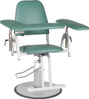 Blood Donor Chair - Hydraulic Adjustable Height