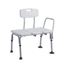 Shower Chair - Plastic Seat Bench