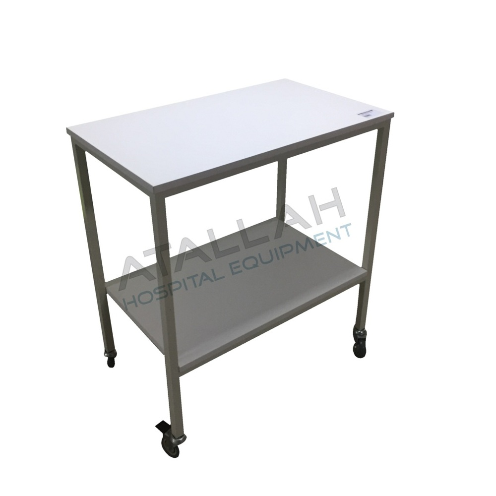 Instrument Trolley - 2 Shelves 70X50cm