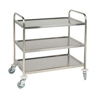 Instrument Trolley - 3 Shelves 85x45 cm