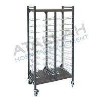 Patient File Trolley - Open Wire