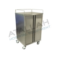 Clean Linen Trolley - Closed 2 Panels