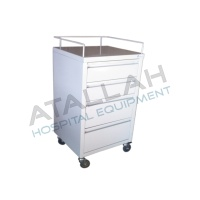 Crash Cart Trolley - 4 drawers