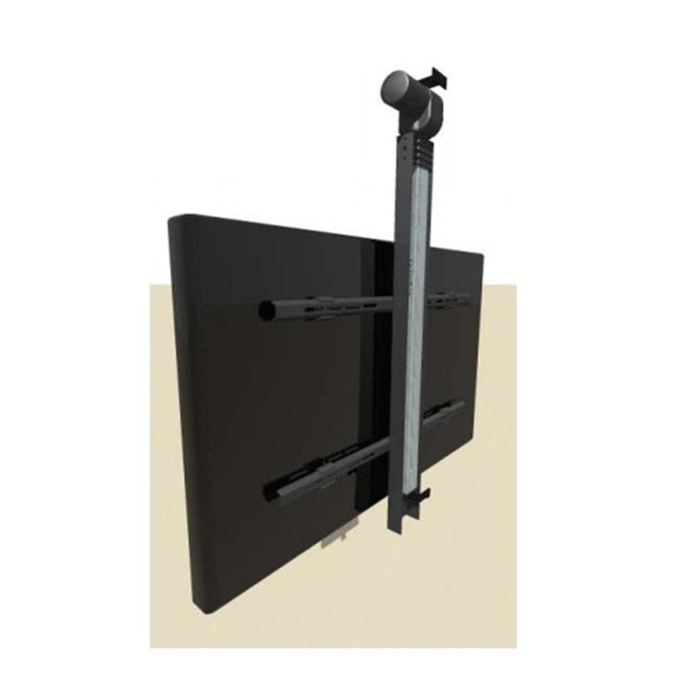 electric drop down tv lift system ceiling mounted