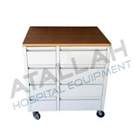 Mobile Pedestal - Metal - 8 Drawers