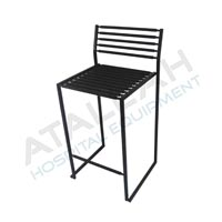 Visitor Chair - Metal seat