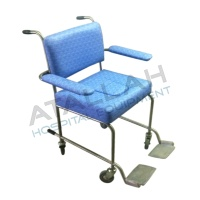 Commode Chair - Padded Seat