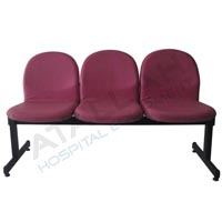 Waiting Area Chair - Padded Foam 3 Seats