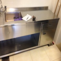 Custom Made Sink Cabinet