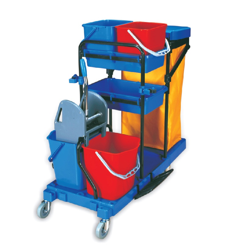 Janitor Cart - Fully Equipped