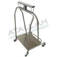 Waste Trolley - Single Spring Large