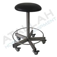 Stool Revolving with Foot Ring