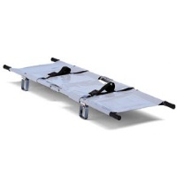 Stretcher Foldable with Telescopic Handgrips