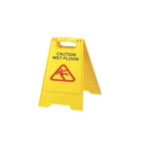 A - Shape Caution Sign