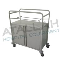 Baby Bassinet Trolley with Cabinet