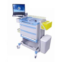 Emergency Trolley - 4 drawers