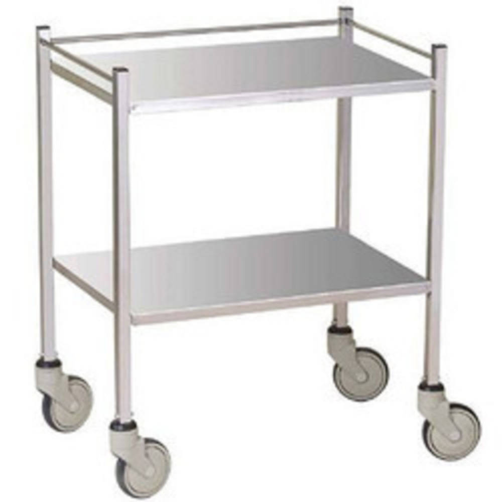 Instrument Trolley - 2 shelves 50x50 cm