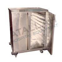 Meal Distribution Trolley - Closed Double
