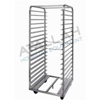 Meal Distribution Trolley - Open with Shelves