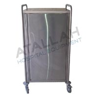Meal Distribution Trolley - Closed Single Neutral