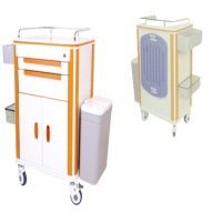 Treatment Trolley - 2 drawers / 1 cabinet