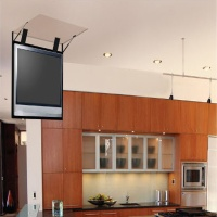 Electric Flip Down Ceiling Tv Lift System